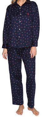 Ralph Lauren Petite Sateen Pajama Set Inseam 29