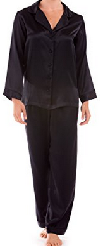 Petite Silk Pajama Set Inseam 27