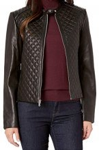 Petite Real Leather Jacket - RL - Zappos
