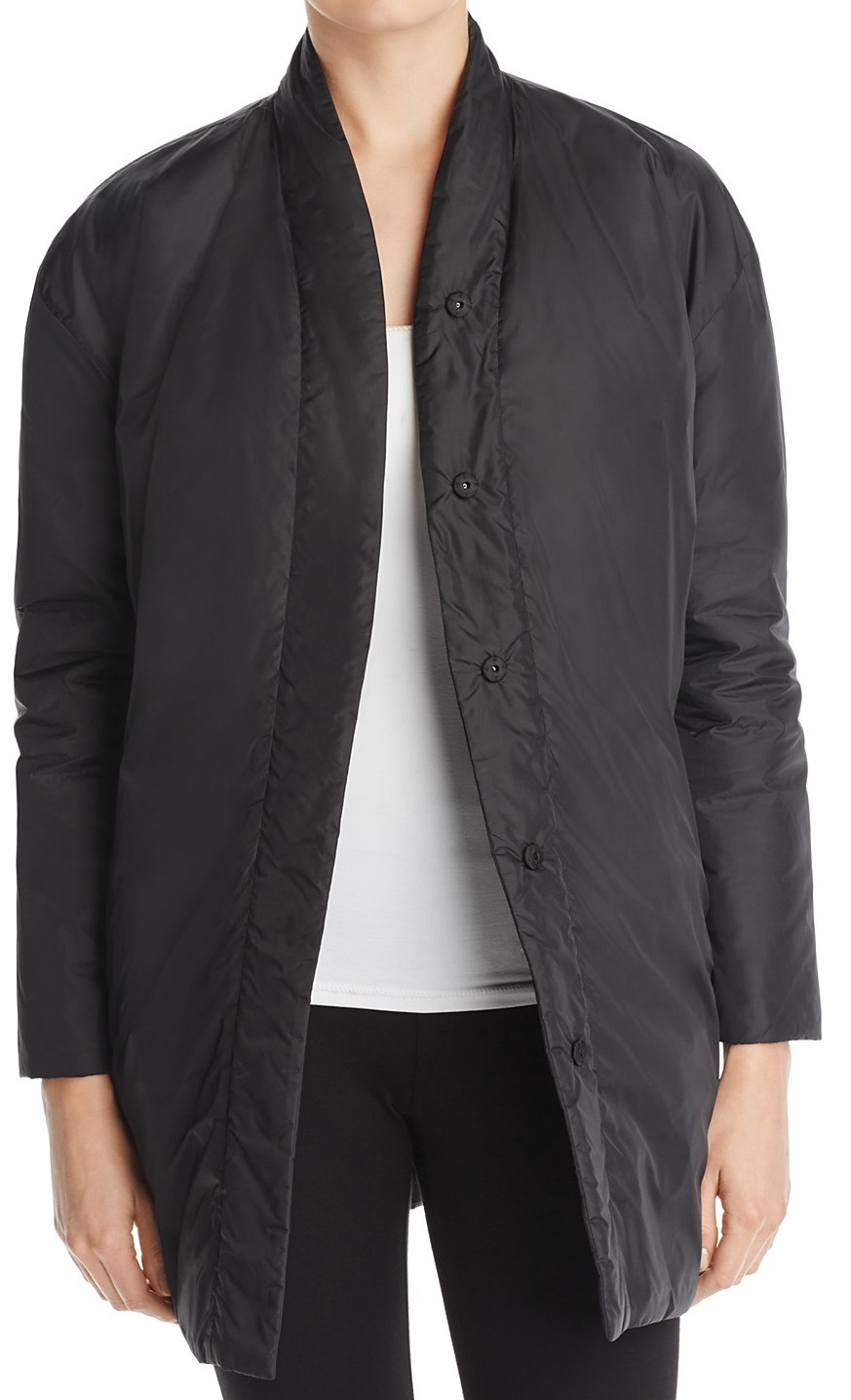 Petite Eileen Fisher Coat - Bloomingdales UK