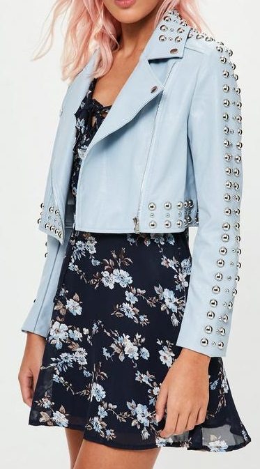 Petite Faux Leather Jacket - Missguided
