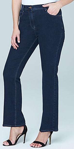 Petite Bootcut Jeans Short Inseam 25