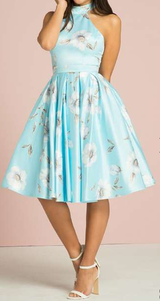 Petite Midi Prom Dress