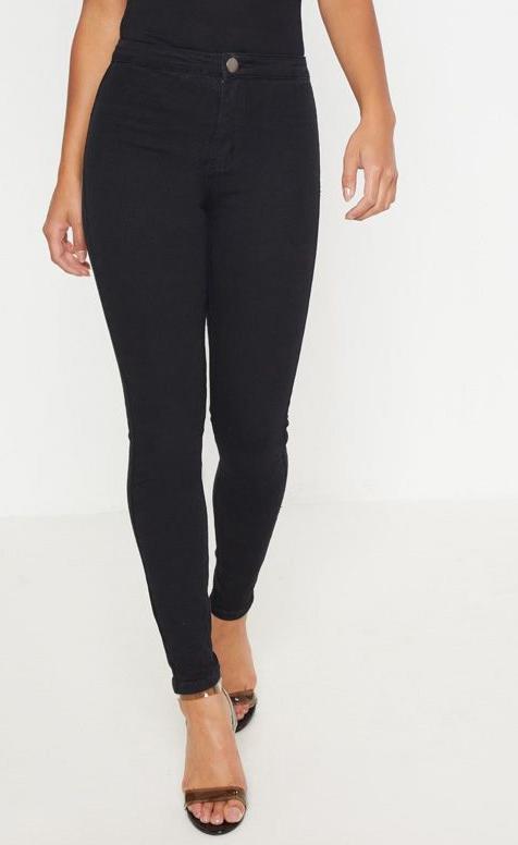 Petite High Rise Skinny Jeans - Inseam 26