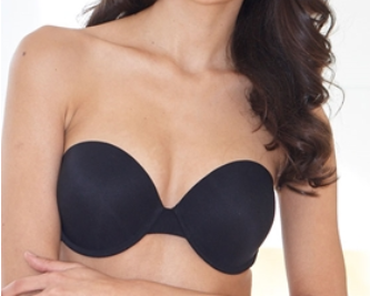 AA Cup Strapless Gel Bra