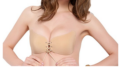 A Cup Strapless Self-Adhesive Silicon Bra