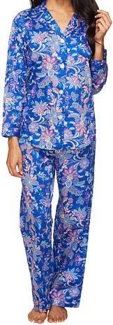 Petite Sateen Pajama 28 Inseam
