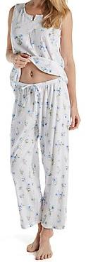 Petite Cotton Pajama Carole Hochman 25-3/4