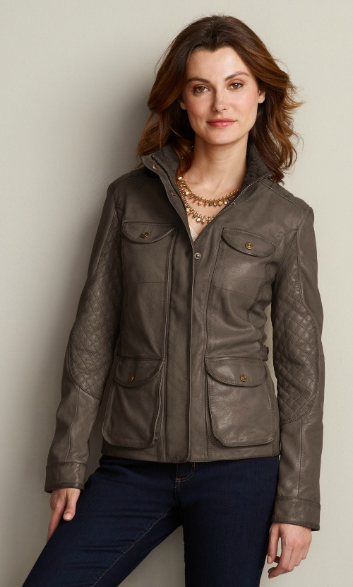 Womens Petite Leather Jackets | Petite Women's Clothing