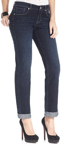 Petite Curvy Fit Jeans Short Inseam 26