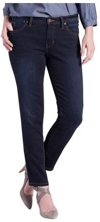 Petite Dark Wash Jeans Inseam 26