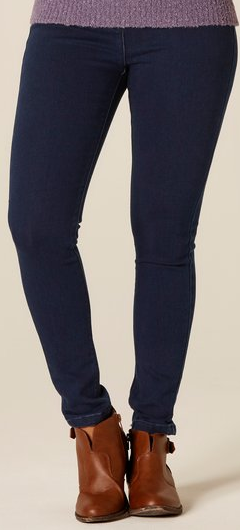 Petite Denim Leggings Short Inseam 26