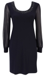 Petite Black Dress From Wallis