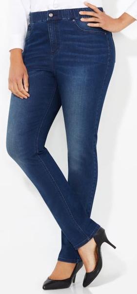 Petite Plus Size Jeans Short Inseam 26