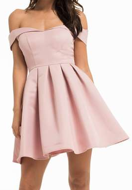 Petite Mini Prom Dress