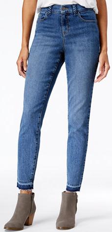 Petite Released-Hem Jeans Short 26