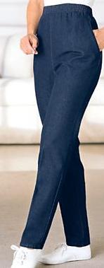 Petite Flim-Fit Jeans Short Inseam 25