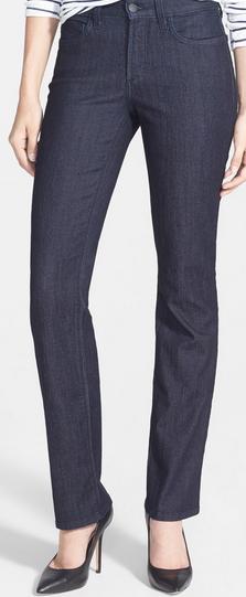 Petite Straight Leg Jeans Inseam 26