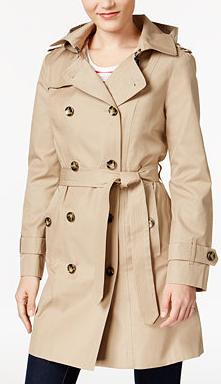 Petite Raincoat from Macy's