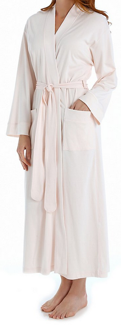 Petites' Long Cotton Robe