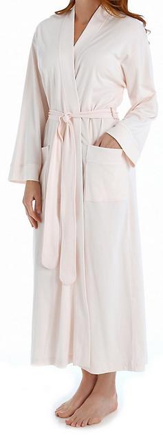 Petites' Long Cotton Robe
