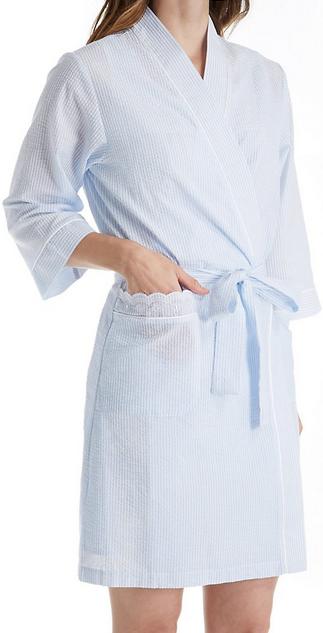Petite Short Wrap Robe