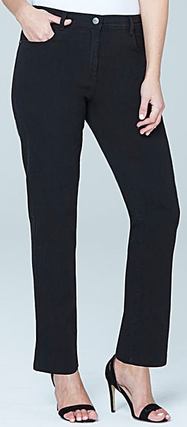 Short Length Straight Leg Jeans Inseam 27