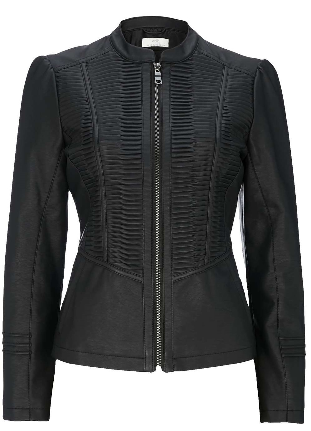 Petite leather jackets for women