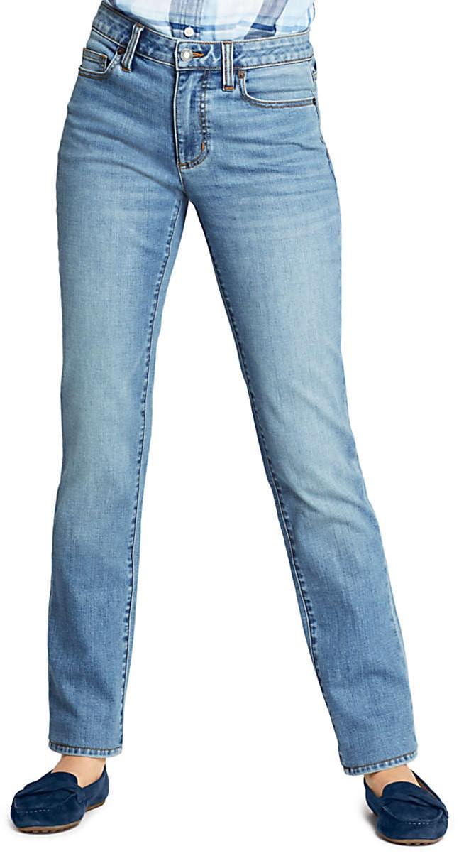 Petite Mid Rise 26 Inseam Jeans - Lands' End