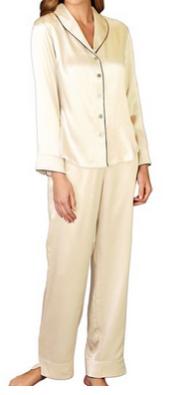 Petite Silk Pajamas