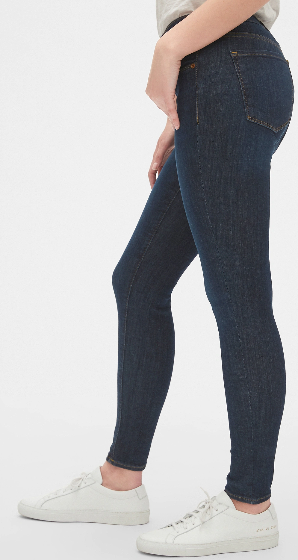 Petite Mid Rise Skinny Jeans - Inseam 26