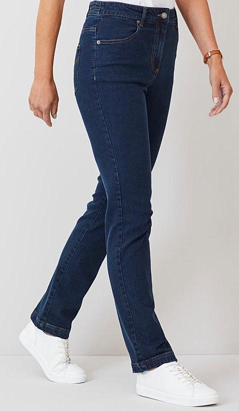 Straight Leg Jeans Extra Short Inseam - 25