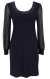 Petite Black Dress From Wallis