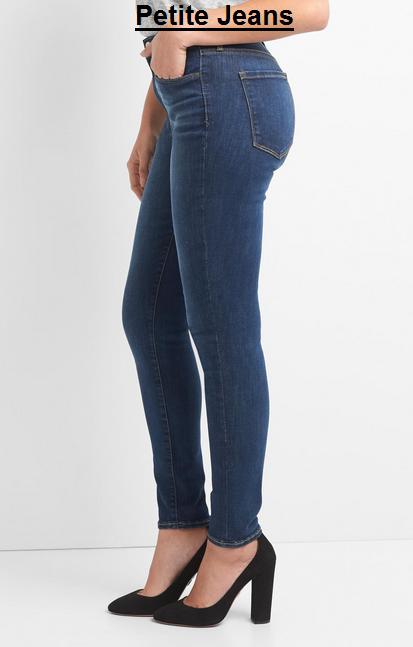 Petite High Waisted Skinny Jeans