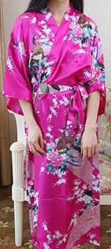 Petite Printed Robe Dress
