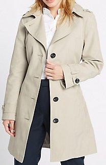 Petite Raincoat - Beige MS