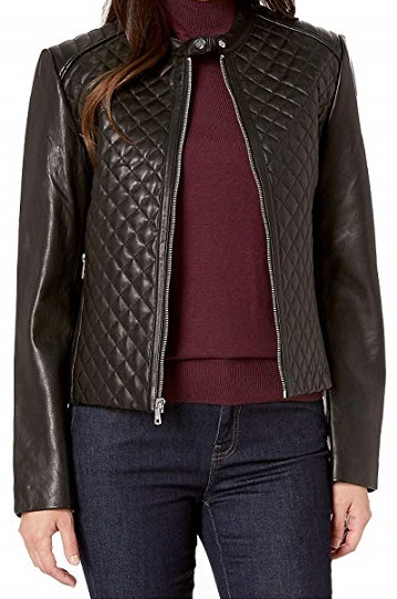 Genuine Leather Petite Jacket - Zappos
